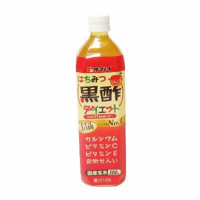 タマノイ酢 はちみつ黒酢ダイエット 900ml 1ケース(12本入)×2ケース