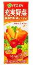 【2ケース送料無料】伊藤園 充実野菜 緑黄色野菜ミックス 200ml×24本〔33%OFF〕