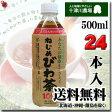 【送料無料】十津川農場 ねじめ びわ茶 PET 500ml×24本