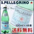 サンペレグリノ (500ml×48本入)【炭酸水 s.pellegrino】【送料無料】※北海道・沖縄・離島を除く