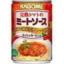 【7月10日出荷開始】カゴメ完熟トマトのミートソース(マッシュルーム入り) 295g×24