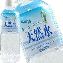 【5月29日出荷開始】北海道 うららか天然水 500ml×24本