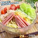 [9日20時〜枚数限定最大200円クーポン配布中]純生冷やし中華×2食セット[麺100g×2P+