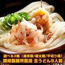 讃岐製麺所直送 生うどん9人前(300g×3P)選べる3種(通常麺/極太麺/平切り麺)メール便でお届