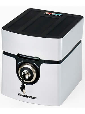 セントリー 耐火・防水USBポート付きメディア保管庫(30分耐火) QA0121