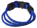 ゲルマニウムとチタンの特性を活かしたゲルマニウムブレスレットです。【日用品屋】ゲルマチタンブレス青 L【※キャンセル・変更不可】