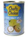 ココナッツの果肉から絞りだした、非常にコクのあるココナッツミルクです。【日用品屋】ユウキ食品 ココナッツミルク 缶 400ml【※キャンセル・変更不可】