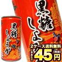 [在庫処分]琉球アジアン 黒糖しょうが 185g缶×60本[30本×2箱]北海道、沖縄、離島は送料無料対象外[賞味期限:2019年4月8日][送料無料]【3~4営業日以内に出荷】