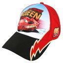 ショッピングベース NASCAR Fanatics Branded Youth Cars 3 NASCAR Lightning McQueen Adjustableキャップ /★つば曲がったタイプベースボールキャップ☆ユース/子供/KID/女性/小さい/US購入カジュアルストリートNYLA☆US購入CA3771