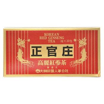 正官庄 高麗紅蔘茶 3g×30包【大木製薬】【4987030701823】【ゆうメール・ネコポス不可】