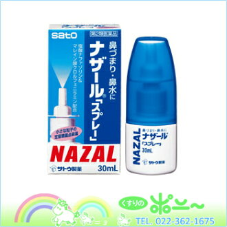 Nazal spray and q pump q 30ml×10 pieces