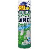 厕所的消臭力喷雾器苹果薄荷330ml[トイレの消臭力スプレー アップルミント 330ml]
