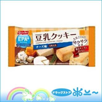 EPA + (加上 EPA) 大豆牛奶餅乾口感鬆脆乳酪味道 27 g [日本漁業] [4902150122938]