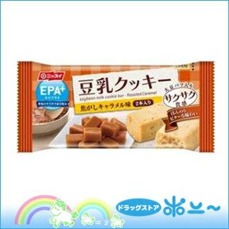 EPA + (加上 EPA) 大豆牛奶餅乾口感鬆脆燒焦焦糖的味道 27 g [日本漁業] [4902150122945]