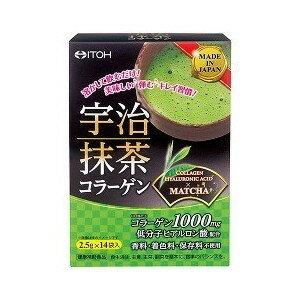 宇治抹茶コラーゲン 健康補助食品 井藤漢方製薬飲料/粉末飲料
