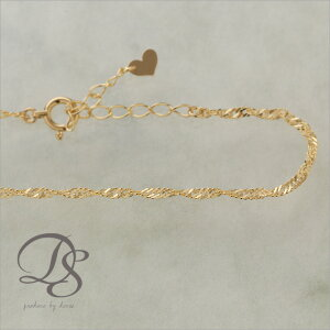 ブレスレット ゴールド ブレスレッド シンプル レディース ジュエリー スクリュー チェーン プレゼント