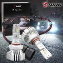 【お盆期間営業中】N-BOXカスタム JF1/JF2 LED ハイビーム 車検対応 12,000LM HB3 LEDヘッドライト ホワイト 6,500K 左右セット