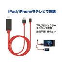 iOS 13対応 iPhone/iPad/iPod to HDMI変換ケーブル Lightning HDMI iPhone iPad 対応 ミラーリングケーブル ミラーリング ケーブル ミラーリング ライトニングケーブル 操作不要!挿すだけですぐ使えます