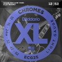 【DT】D'Addario ECG25 Flat Wound 3弦ワウンド 012-052 ダダリオ フラットラウンド