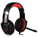 LIMON ゲーミングヘッドセット GAMING HEADSET G9000 BL-HS02-RD レッド (BLHS02RD)