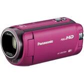 パナソニック【在庫限り】 HC-W570M-P ピンク (32GB内蔵/光学50倍ズーム/3.0型タッチパネル液晶)