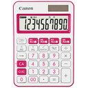 Canon(キヤノン) カラフル電卓(10桁) ミニ卓上 LS-105WUC-PK LS105WUCPKSOB 【軽減税率対応】