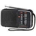 オーム電機 スタミナハンディラジオ RAD-H245N [AM/FM /ワイドFM対応] RADH245N