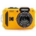 Kodak(コダック) コンパクトデジタルカメラ【防水+防塵+耐衝撃】 スポーツカメラ PIXPRO イエロー WPZ2 [防水 防塵 耐衝撃] WPZ2