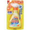 日本合成洗剤 おふろ洗剤泡スプレー つめかえ用 350ml