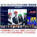 コンピューケースジャパン サイネージ型AI顔認証検温システム CTI-T66 CTIT66 [代引不可]