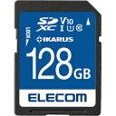 ELECOM(エレコム) MF-FS128GU11IKA SDXCメモリーカード UHS-I U1 [IKARUS付/128GB] MFFS128GU11IKA [振込不可]