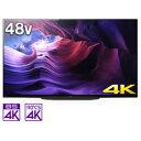 SONY(ソニー) 有機ELテレビ BRAVIA KJ-48A9S [48V型 /4K対応 /BS・...