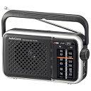オーム電機 ポータブルラジオ AudioComm RAD-T450N [AM/FM /ワイドFM対応] RADT450N
