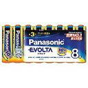 Panasonic(パナソニック) 【単3形】 8本 アルカリ乾電池 「エボルタ」 LR6EJ/8SW LR6EJ8SW