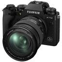 FUJIFILM(フジフイルム) X-T4-B ミラーレス一眼カメラ XF16-80mmレンズキット ブラック FXT4LK1680B [ズームレンズ] FXT4LK1680B