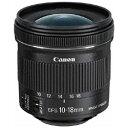 Canon(キヤノン) カメラレンズ EF-S10-18mm F4.5-5.6 IS STM【キヤノンEFマウント(APS-C用)】 EFS1018ISSTM