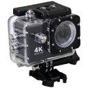 SAC AC600 ブラック 4Kアクションカメラ AC600B [振込不可]