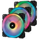 CORSAIR(е│еые╗ев) LL120 RGB 3 Fan Pack with Lighting Node PRO (CO-9050072-WW) CO-9050072-WW