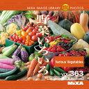 【あす楽】MIXAイメージライブラリーVol.363 野菜いろいろ CD-ROM素材集 送料無料 ロイヤリティ フリー cd-rom画像 cd-rom写真 写真 写真素材 素材