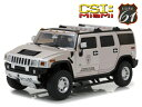 HUMMER - Highway 61 1:18 2003年モデル ハマー H1 「CSi Miami」2003 Hummer H1 CSi Miami (2002-12 tv Series) 1/18 by Highway 61 NEW USA