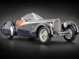 1938年モデル ブガッティ 57 SC コルシカ ブルー クロコダイルレザー1938 Bugatti 57 SC 1/18 by CMC