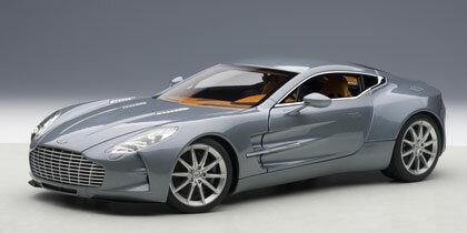 2011年モ��ル アストンマーチン One-77 ブルー2011 Aston Martin One-77 1/18 by AUTOart