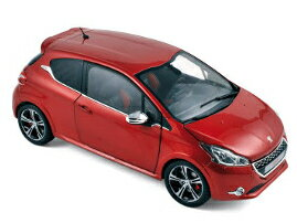 2013年モデル プジョー 208 GTI レッド2013 Peugeot 208 GTI Red 1/18 Diecast Car Model by Norev