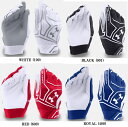 ★海外モデル★アンダーアーマーUA ClutchFit Batting Gloves少年用バッティンググローブ(両手用)1265932