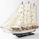 リアルな帆船の模型(DENMARK)/ドイツ・Seaclub(シークラブ)社/マリン/マリンテイスト
