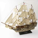 リアルなイギリス海軍の戦列艦・ヴィクトリー号の模型 ドイツ・Seaclub(シークラブ)社 マリン マリンテイスト ビーチ コースタル 西海岸 ヨーロッパ市場向け製品 日本ではレア