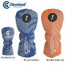 【ダンロップ】CLEVELAND(クリーブランド) 数量限定ヘッドカバー(ドライバー用) GGE-C024DL