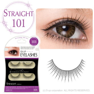 D.U.P EYELASHES  STRAIGHT  101
