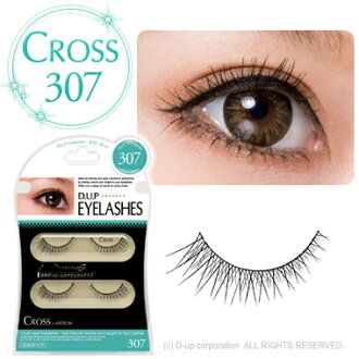 D.U.P Eyelash ( eyelashes ) CROSS 307