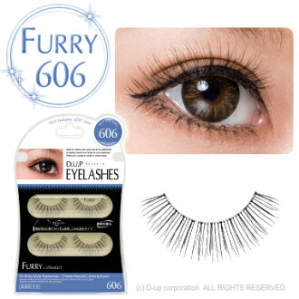 D.U.P Eyelash ( eyelashes ) FURRY 606